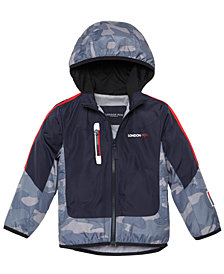 London Fog Toddler & Little Boys Camo-Print Hooded Jacket