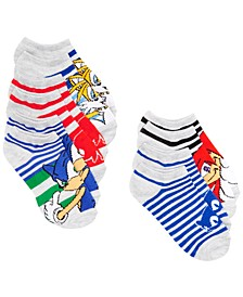 Planet Sox Little Boys 5-Pk. Sonic the Hedgehog No-Show Socks