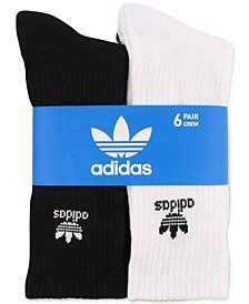 Men's 6-Pk. Crew Socks