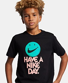 Nike Big Boys Have a Nike Day Graphic Cotton T-Shirt