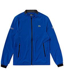 Lacoste Men's Novak Djokovic Zip-Front Logo Jacket