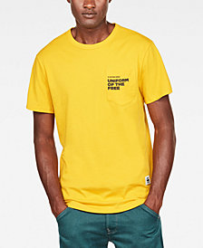 G-Star RAW Men's Uniform of the Free Pocket T-Shirt