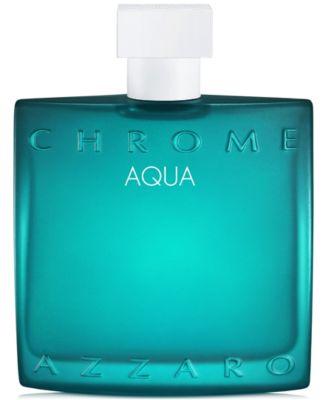 Men's Chrome Aqua Eau de Toilette Spray, 3.4-oz.