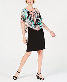 JM Collection Petite Triple Threat Dress, Created for Macy's