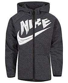 Nike Toddler Boys Logo-Print Zip-Up Hoodie