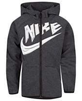 4781660201 Nike Toddler Boys Logo-Print Zip-Up Hoodie
