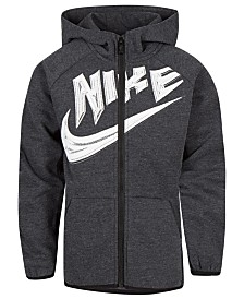 Nike Toddler Boys Logo-Print Zip-Up Hoodie