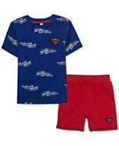 d3a79c94 DC Comics Superman Little Boys T-Shirt & Shorts Set