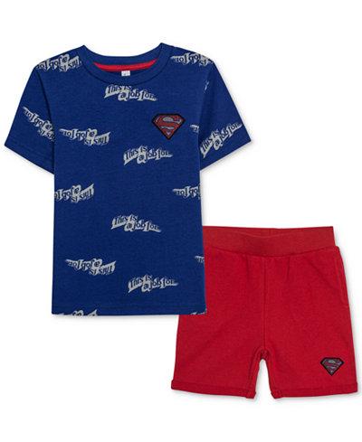 DC Comics Toddler Boys T-Shirt & Shorts Set