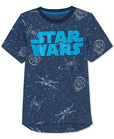 Star Wars Little Boys Printed T-Shirt