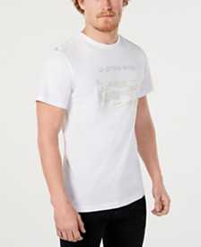 G-Star RAW Men's Hamburger Logo Graphic T-Shirt, Created for Macy's