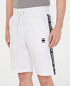 Men's Satur Straight-Fit Stretch Sweatshorts, Created for Macy's
