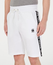 G-Star RAW Men's Satur Straight-Fit Stretch Sweatshorts, Created for Macy's