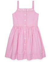 2b286c1360d Polo Ralph Lauren Big Girls Gingham Cotton Dress