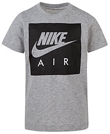 Nike Toddler Boys Box Logo-Print T-Shirt