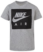 c64f7d358534 Nike Big Boys Air Box Logo T-Shirt