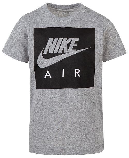 24615453e Nike Big Boys Air Box Logo T-Shirt & Reviews - Shirts & Tees - Kids ...