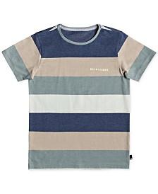 Quiksilver Boys Unsung Heroes Stripe T-Shirt