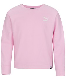 Puma Big Girls Logo-Print Sweatshirt