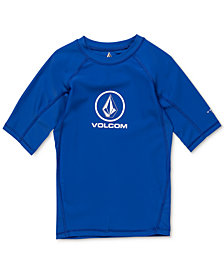 Volcom Boys Lido Logo Graphic Rash Guard