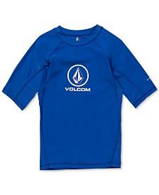Volcom Little Boys Lido Logo Graphic Rash Guard