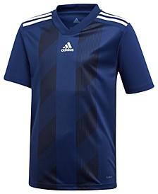 Adidas Big Boys Striped 19 Jersey