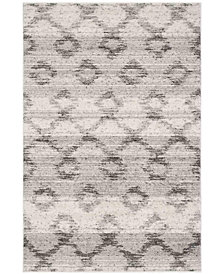 Safavieh Adirondack Silver and Charcoal 4' x 6' Area Rug