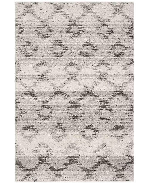 """Safavieh Adirondack Silver and Charcoal 2'6"""" x 8' Runner Area Rug"""