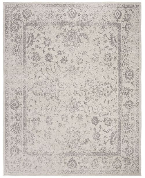 Safavieh Adirondack Ivory and Silver 8' x 10' Area Rug