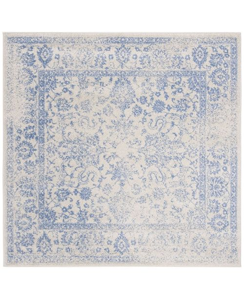 Safavieh Adirondack Ivory and Light Blue 6' x 6' Square Area Rug