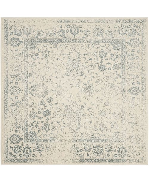 Safavieh Adirondack Ivory and Slate 6' x 6' Square Area Rug