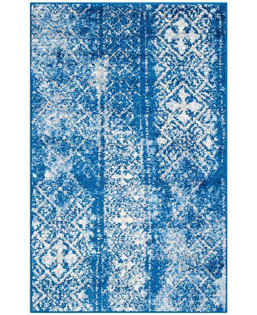 "Safavieh Adirondack Silver and Blue 2'6"" x 4' Area Rug"