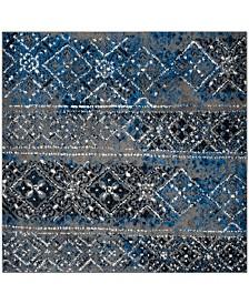 Safavieh Adirondack Silver and Multi 6' x 6' Square Area Rug