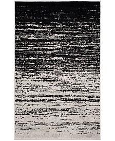 "Safavieh Adirondack Silver and Black 2'6"" x 4' Area Rug"