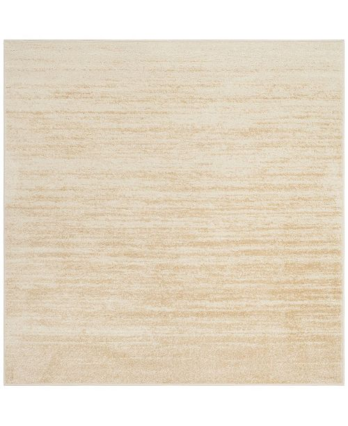 Safavieh Adirondack Champagne and Cream 6' x 6' Square Area Rug