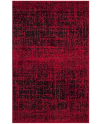 Adirondack Red and Black 8' x 10' Area Rug