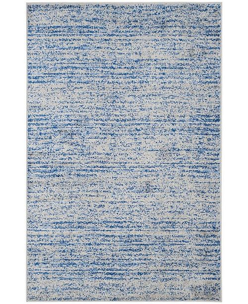 Safavieh Adirondack Blue and Silver 4' x 6' Area Rug
