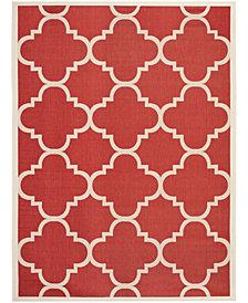 Safavieh Courtyard Red 8' x 11' Sisal Weave Area Rug