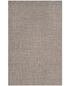 "Safavieh Courtyard Light Brown 5'3"" x 7'7"" Sisal Weave Area Rug"