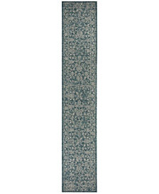 "Safavieh Courtyard Turquoise 2'3"" x 12' Sisal Weave Area Rug"