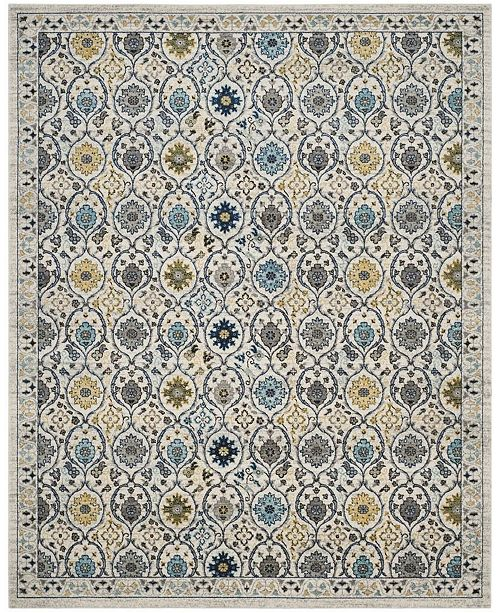 Safavieh Evoke Ivory and Blue 8' x 10' Area Rug