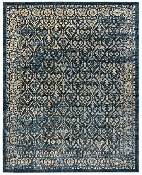 Safavieh Evoke Navy and Gold 8' x 10' Area Rug