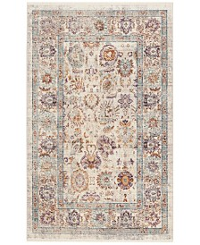 Safavieh Illusion Cream and Purple 3' x 5' Area Rug