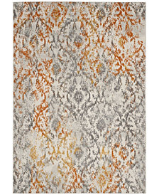 "Safavieh Madison Cream and Orange 5'1"" x 7'6"" Area Rug"