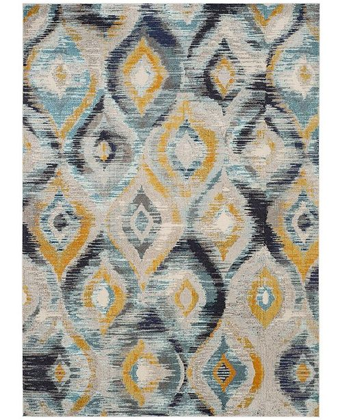 Safavieh Monaco Blue and Multi 8' x 11' Area Rug