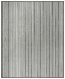 Safavieh Natural Fiber Ivory Blue and Gray 8' x 10' Sisal Weave Area Rug