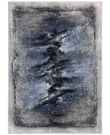 "Safavieh Spirit Blue and Charcoal 5'3"" x 7'6"" Area Rug"