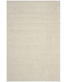"Safavieh Arizona Shag Creme 5'1"" x 7'6"" Area Rug"