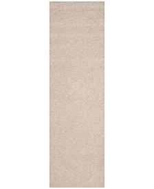 "Safavieh Arizona Shag Beige 2'3"" x 8' Sisal Weave Area Rug"