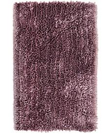 Nicole Miller Radiance Shag Popcorn Chenille Microfiber Bath Mat